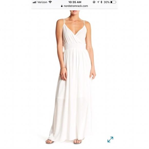 West Kei Dresses   White Nordstrom Rack Maxi Dress   Poshmark